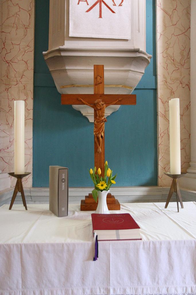 Kirche Bockelwitz Altar
