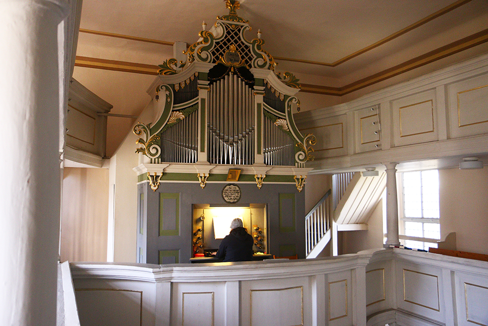 Kirche Bockelwitz Orgel