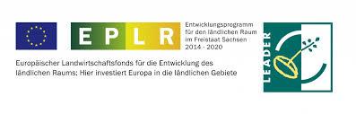 Logo Leader Entwicklungsprogramm ländlicher Raum Sachsen